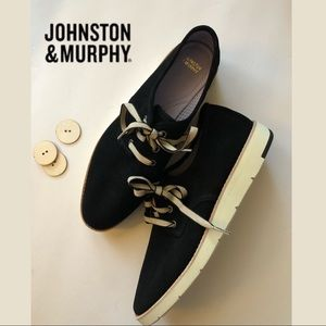 Johnston and Murphy's Phyllis Lace Up Oxford